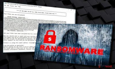 Recme ransomware-type virus