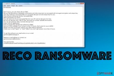 Reco ransomware