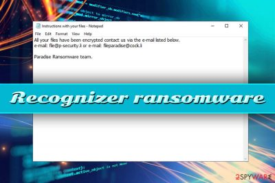 Recognizer ransomware