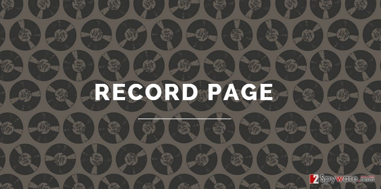 Record Page virus