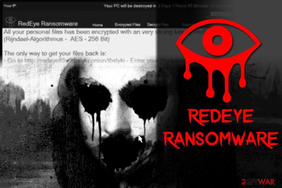 RedEye ransom note