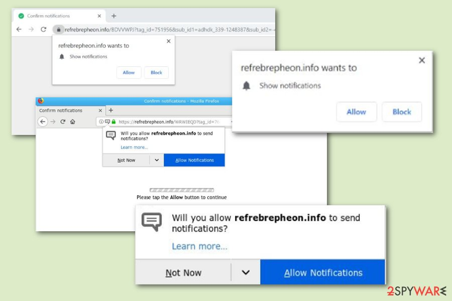 Refrebrepheon.info adware