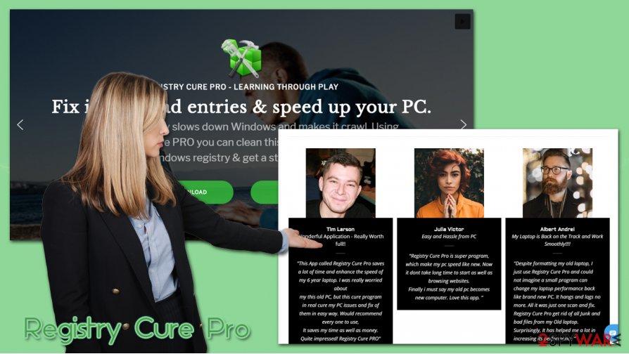 Registry Cure Pro PUP