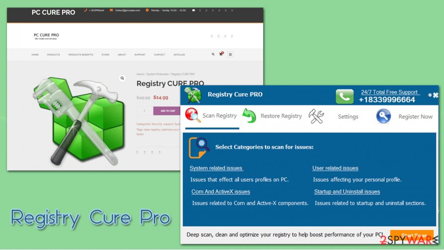 Registry Cure Pro