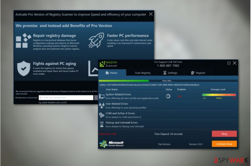 Registry Scanner virus