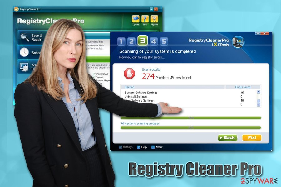 Registry Cleaner Pro virus