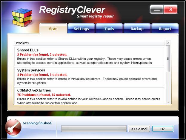 RegistryClever