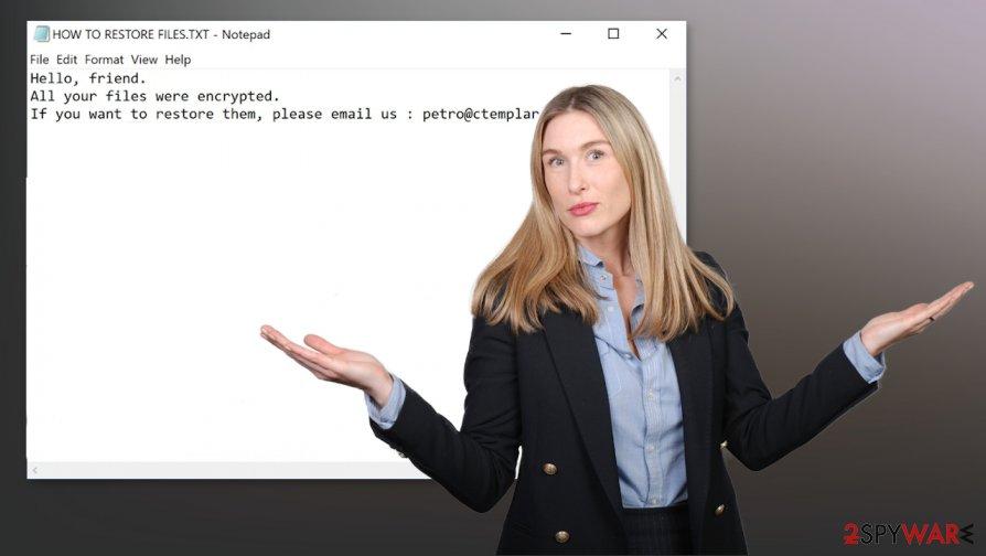 RegretLocker ransomware virus