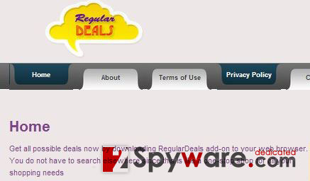 Regular Deals ads snapshot