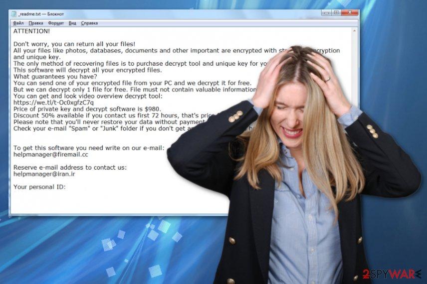 Reha ransomware virus