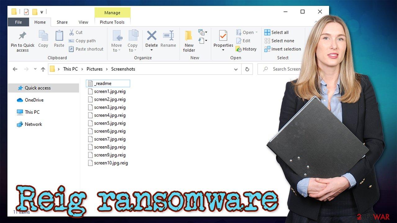 Reig ransomware virus