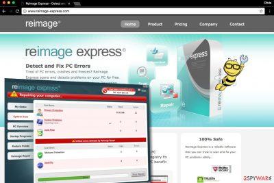 Reimage Express screenshot