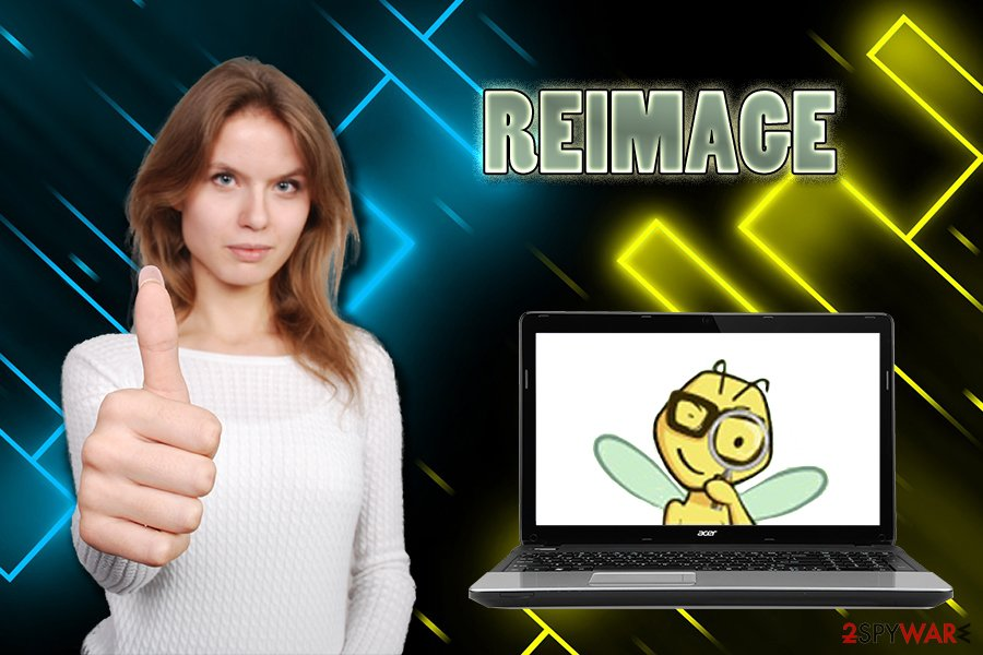 Reimage legitimate software