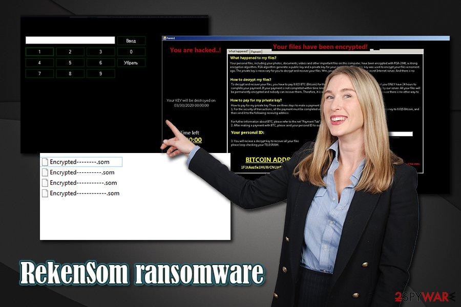 RekenSom ransomware virus