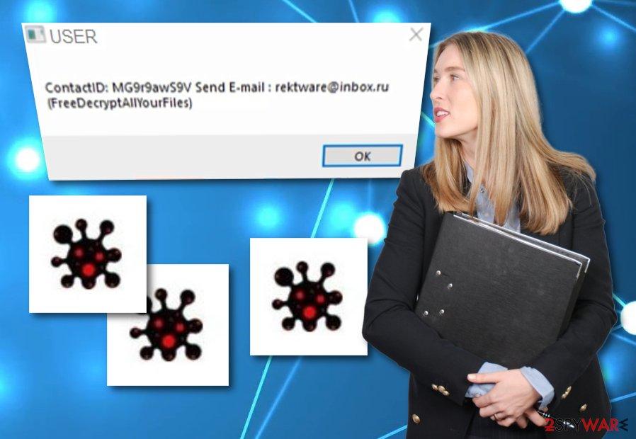 Rektware ransomware virus