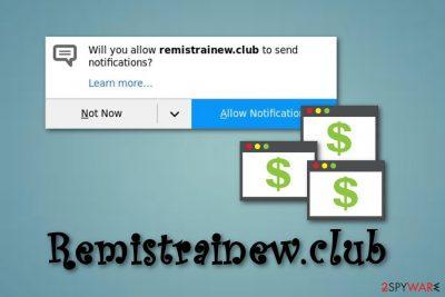 Remistrainew.club adware