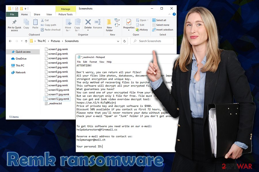 Remk ransomware STOP/Djvu
