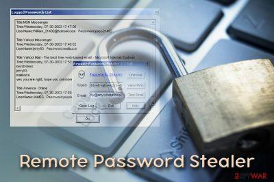 Remote Password Stealer virus