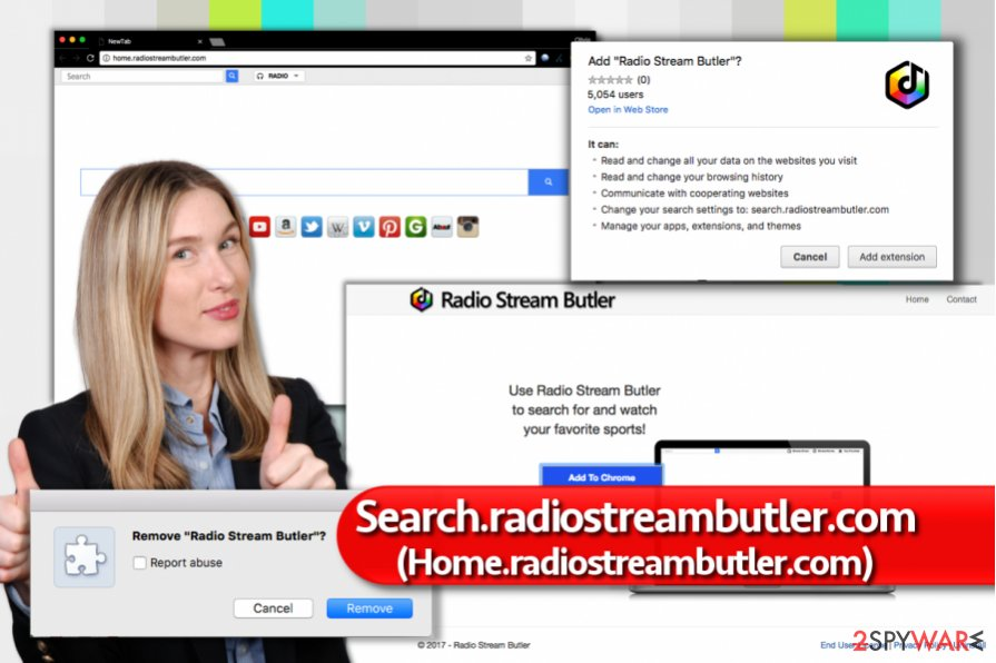 Remove Search.radiostreambutler.com