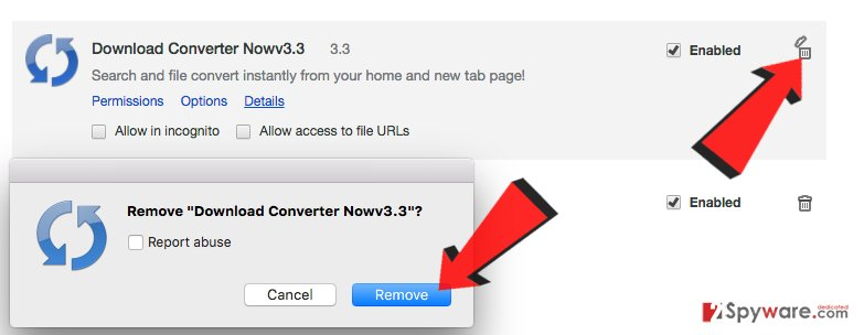 How to remove Search.searchdconvertnow.com virus from Chrome