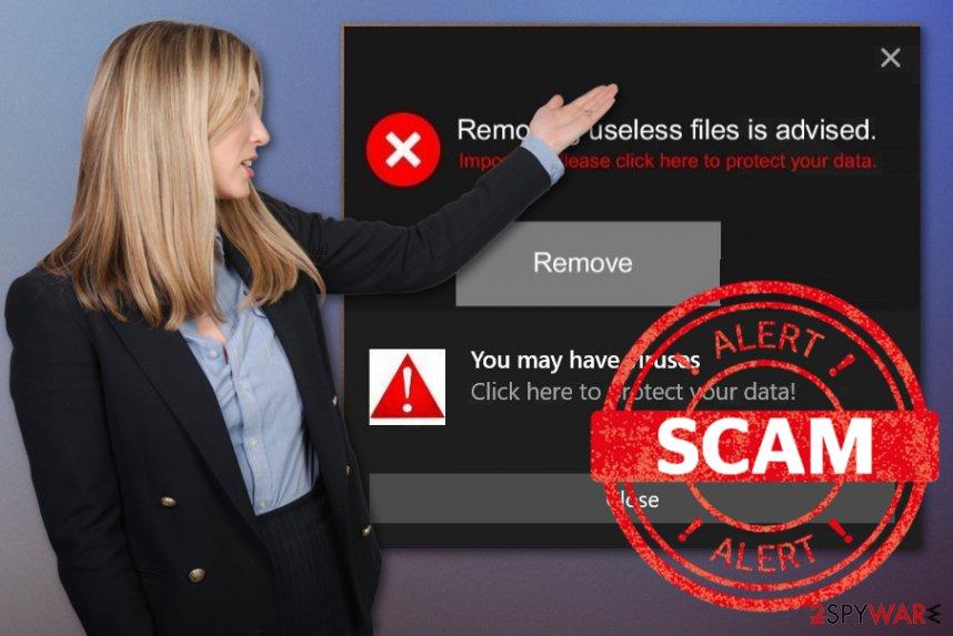 Removing useless files is advised virus