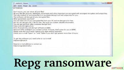 Repg ransomware