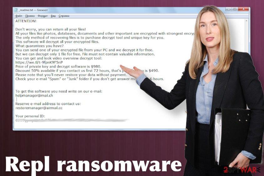 Repl ransomware virus