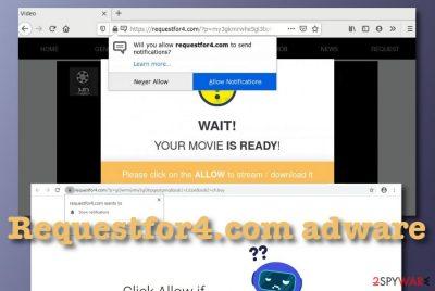 Requestfor4.com adware