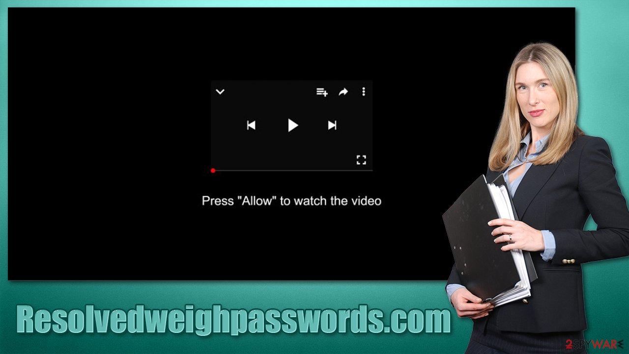Resolvedweighpasswords.com virus