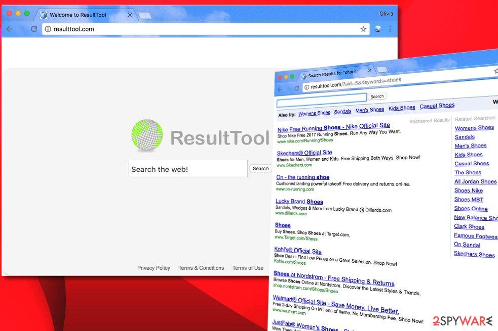 Resulttool.com virus