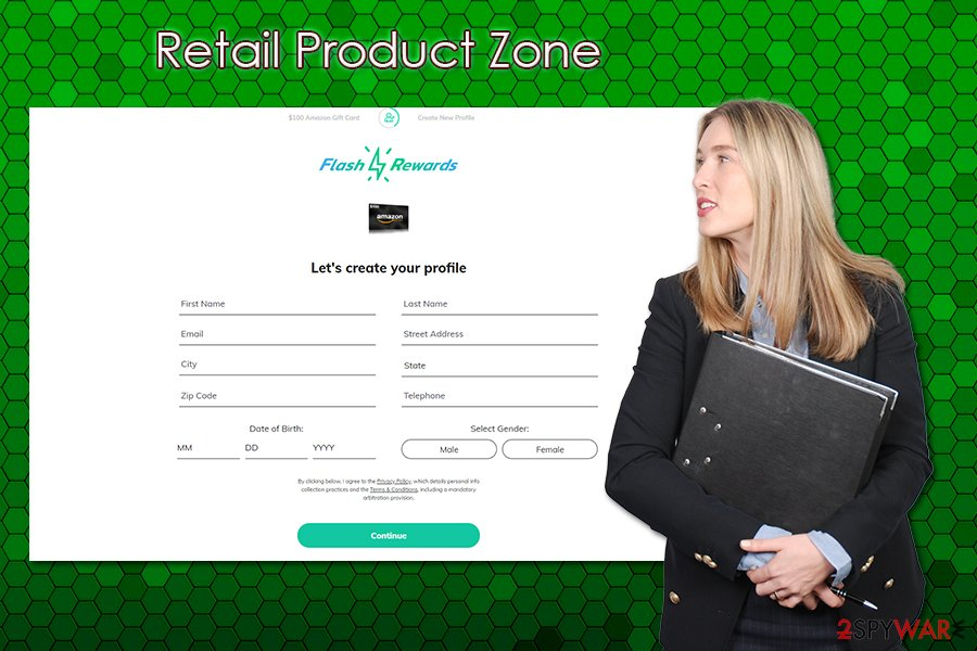 Retail Product Zone scam