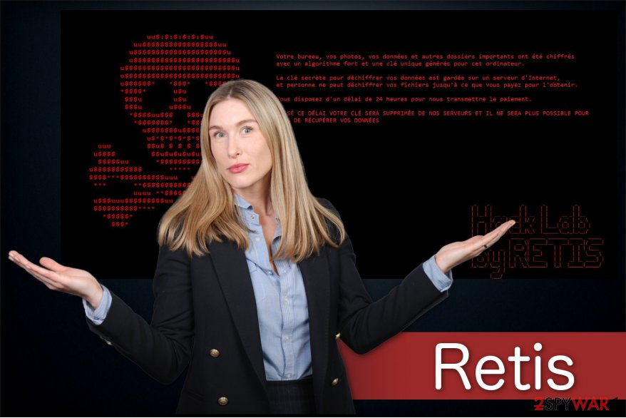 The illustration of Retis ransomware