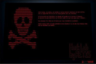 Retis ransomware image