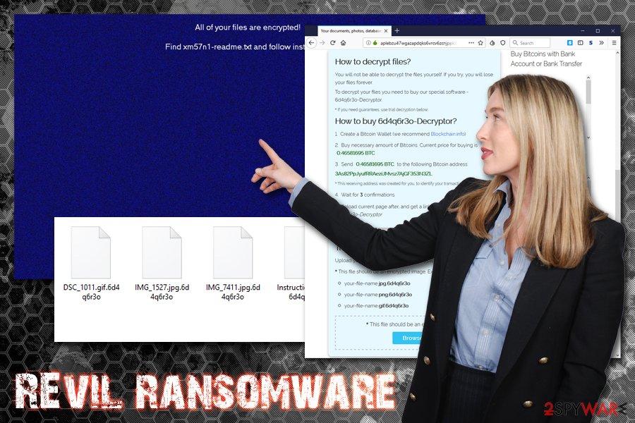 REvil ransomware virus