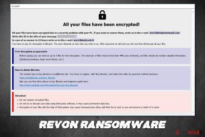 Revon ransomware