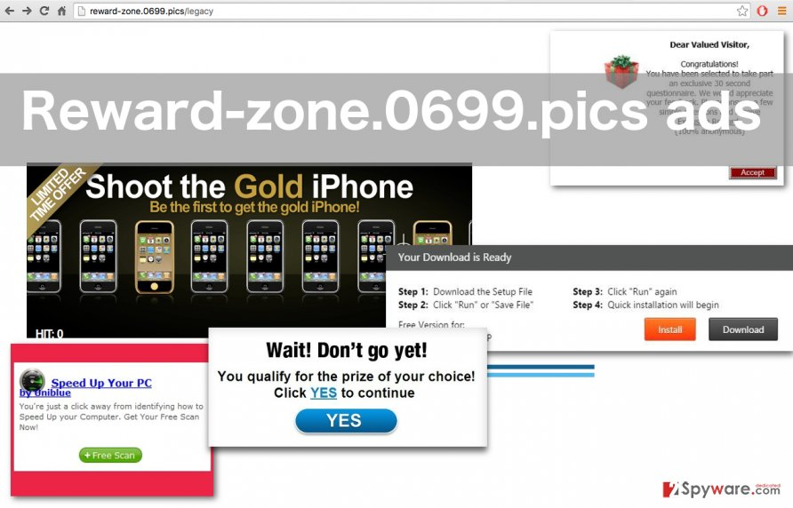 An example of Reward-zone.0699.pics ads