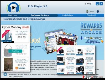 Displaying RewardsArcade pop-up ads
