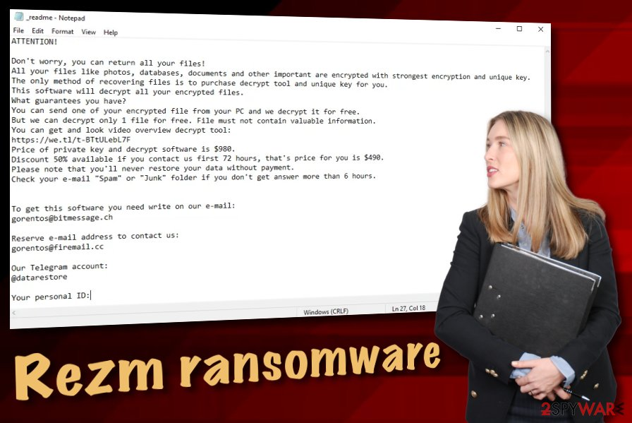 Rezm ransomware