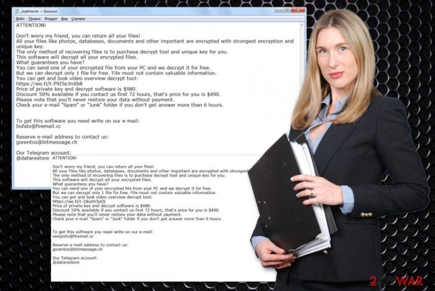Rezuc ransomware virus