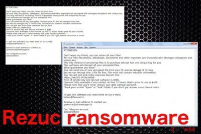Rezuc ransomware