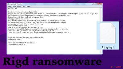 Rigd ransomware