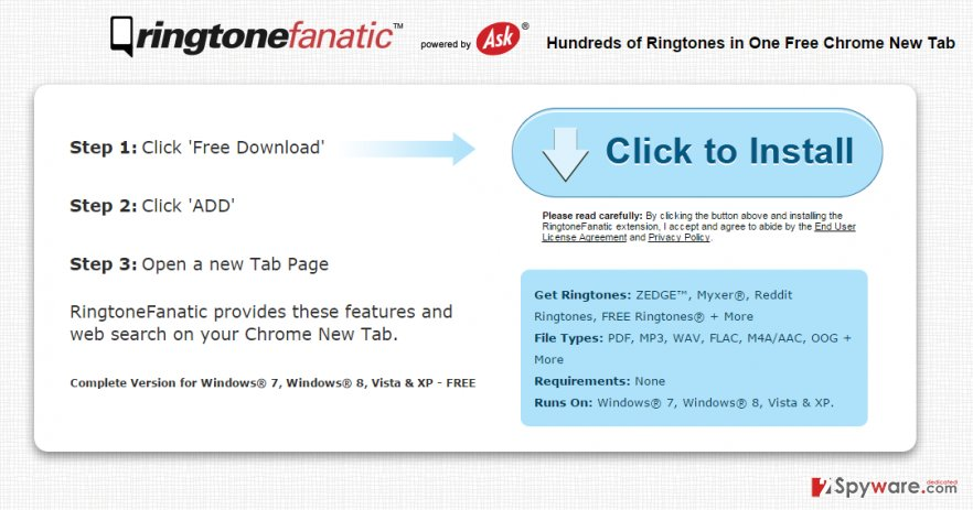 RingtoneFanatic Toolbar