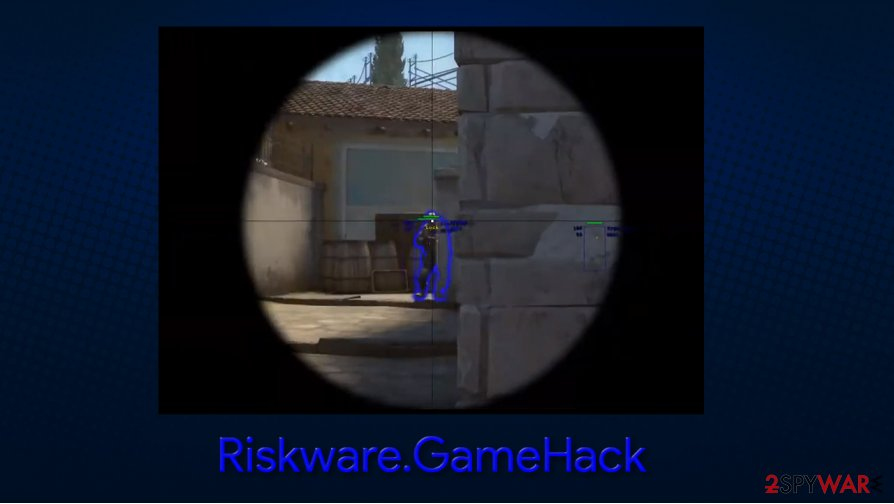 Riskware.GameHack