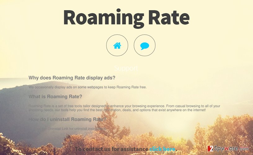 Roaming Rate virus