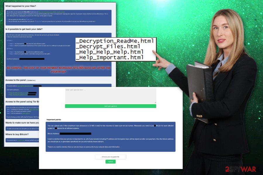 RobbinHood ransomware virus