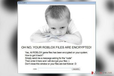 Roblocker X virus