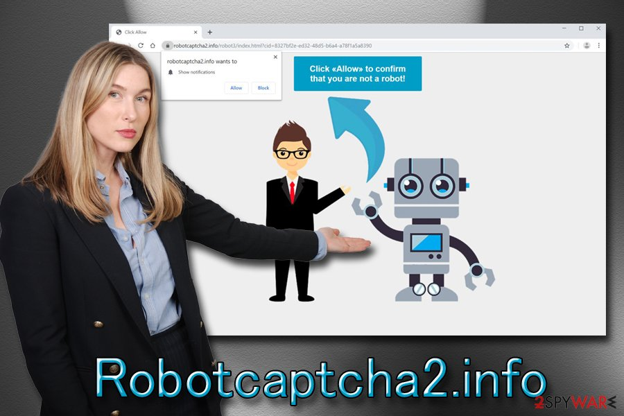 Remove Robotcaptcha2.info (Virus Removal Instructions) - Chrome, Firefox, IE, Edge