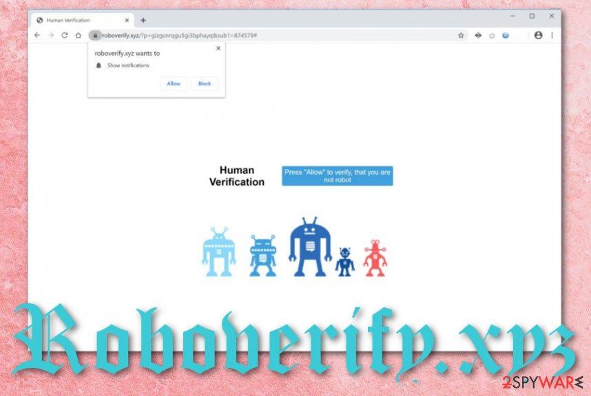 Roboverify.xyz adware