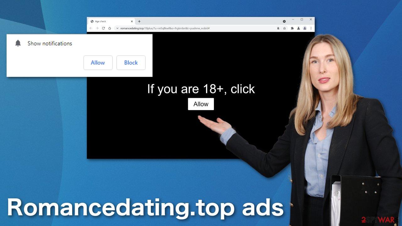 Romancedating.top ads