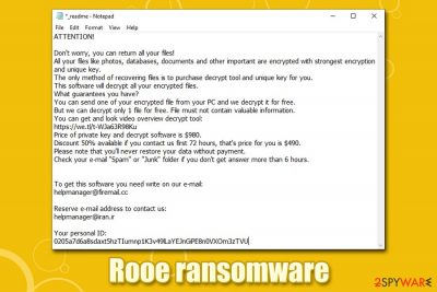 Rooe ransomware